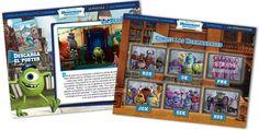 Diseño y programación del site de la película de Disney Monstruos University para Carrefour.#web #Violetta #Disney