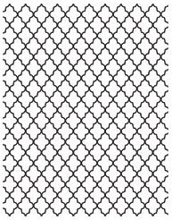 Hero Arts Cling Stamp LATTICE BACKGROUND Studio Calico