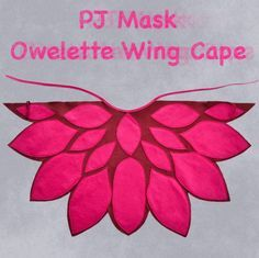 Little Owlette cape from PJ Mask | BHB Kidstyle