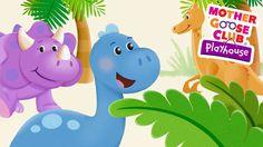 Dinosaur Stomp | Mother Goose Club Playhouse Kids Song
