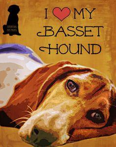 He encontrado este interesante anuncio de Etsy en https://www.etsy.com/es/listing/173813791/basset-hound-dog-impresion-del-arte