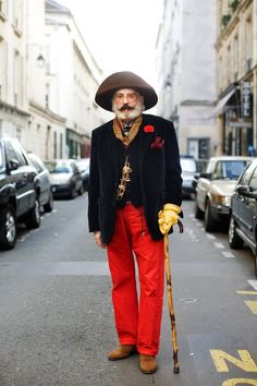 ADVANCED STYLE: My Style Icons. Derrill Osborn...nts sneak this kind of style into the mister's closet.
