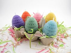 Beeswax Easter Egg Votive Candles Giveaway-entry instructions;use beeswax candles for cleaner burning candles with less soot(& buy only unscented,made in USA,Germany,or UK-to ensure lead based wicks arent used;candles made in China,Mexico,& India may contain lead.