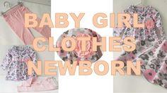 Humor Bear Baby Girl Floral Clothes Set Newborn Toddler Super Mega Cool ...