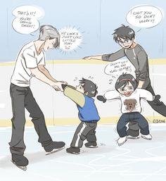 1/2 Ongoing ❄ Yuri!!! on Ice | VK