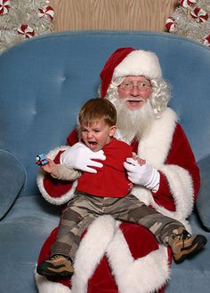 Santa just told him Thomas the Tank Engine is gay.