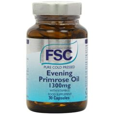 FSC Evening Primrose Oil 1300mg 30 capsule >>> Check out this great product. (This is an affiliate link) #VitaminsDietarySupplements