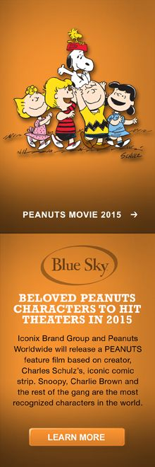 Peanuts Movie coming in 2015