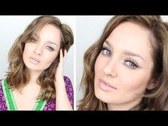 Australian Beauty & Make Up Celebrity wears Tamara Al Gabbani - Double Winged Glam Makeup Tutorial for Eid