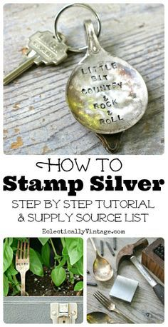How to Stamp Silver
