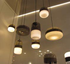 lampen hanglamp glas warm licht tafel