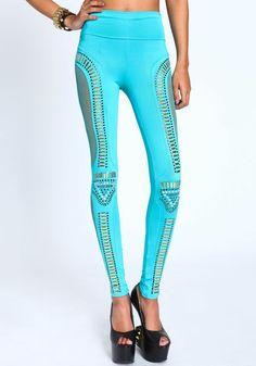 3650a9b4b356e High Waist Futuristic Leggings