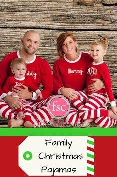 3ebcfc1150 PRE-ORDER Family Christmas Pajamas personalized