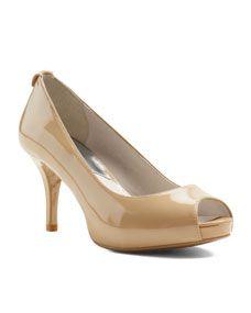 MICHAEL Michael Kors  Flex Peep-Toe Pump for the bridesmaids?