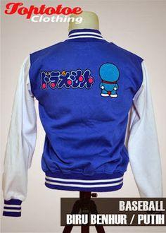 Jaket Baseball Varsity STAND BY ME Doraemon Ganbate!!