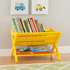 Good Read Book Caddy (Yellow)  | The Land of Nod