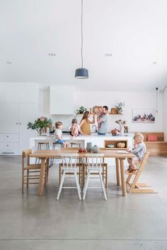 A modern family home with Nordic style in Adelaide | Australian House and Garden Family Room, Home And Family, Modern Family, Big Family, Nordic Home, Nordic Style, Nordic Kitchen, Scandi Style, Daybed Design
