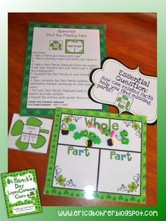 St. Patrick's Day Ideas and Freebie Links
