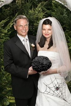 I can imagine this being one of Abby's wedding pictures if she ever gets married on NCIS
