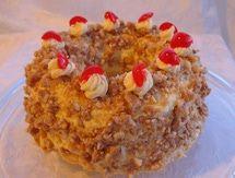 Buttercream frosting the way Mom made it - Yum!  - Frankfurter Kranz - Frankfurter Crown Cake