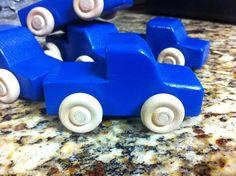Little Blue Truck  20 by fiddlinwithsticks on Etsy, $60.00