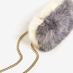 FAUX FUR MINAUDIERE - Available in more colours