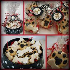 Dog Bone Cookies...adorable!