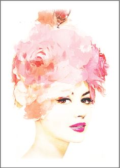 Mae limited edition print from Wallstudio | The Belle Vogue Collection