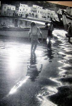 #Mykonos #waterfront ,1960's.
