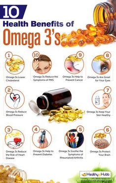 10 Proven Health Benefits of Omega 3's http://standouthealth.com