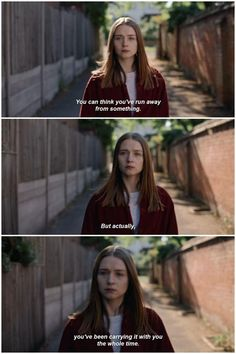 The End of the F***ing World 2 - Alyssa Running Away Sad Movies, Series Movies, Movie Tv, Tv Series, Tv Show Quotes, Film Quotes, Sad Movie Quotes, 2017 Quotes, Ing Words