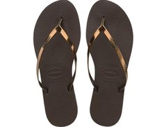 <p>Stand out with the You Metallic sandal. Featuring just a touch of extra height and metallic straps in fresh neutral colors. A unique style with the same comfort thanks to our signature textured footbed.</p><ul><li>Thong style</li><li>Cushioned footbed with textured rice pattern and rubber flip flop sole</li><li>Made in Brazil</li></ul>