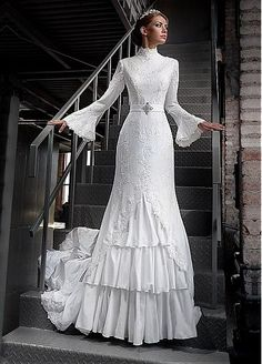 Very Elegant Dress Inspired By Century Wedding Gowns It Has
