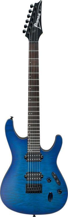 New 2016 Ibanez S621QM Electric Guitar The Ibanez S621QM is a super comfortable… #guitartutorials #ibanezguitars