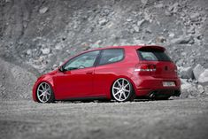Car Photos, Car Pictures, Golf 6, Mk6 Gti, Golf Stance, Golf Photography, Tuner Cars, Car Posters, Vw Volkswagen