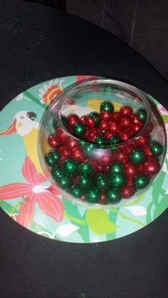Glitter coated chocolate Christmas decorations!  I love my job!!