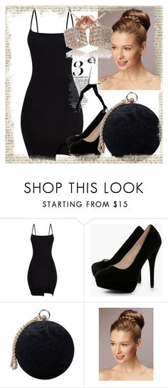 """Μαύρη ομορφιά"" by evi-alverti on Polyvore featuring Boohoo, Carvela and Garance Doré"