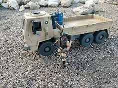CUSTOM Hasbro GI Joe Cobra Transport Truck Free Shipping!   | eBay