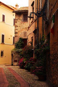 Castelnuovo di Farfa, vicolo