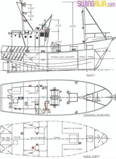"Résultat de recherche d'images pour ""estructura de barco pesca dibujo"" Model Ship Building, Boat Building Plans, Boat Plans, Nautical Nursery, Nautical Theme, Metal Bending Tools, Boat Drawing, Top Boat, Fishing Vessel"