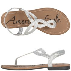 I have these in Gold. Gold is not available but I hope they bring it back ~ Womens American EagleWomen's Whitney Sandal - Payless