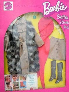1972 Barbie, Steffie, Christie & P.J. - Suede 'N Fur #3491