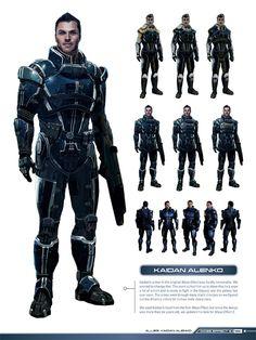 Exclusive Look! Mass Effect 3 Character Design