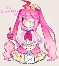 Fnaf cupckake!! <3