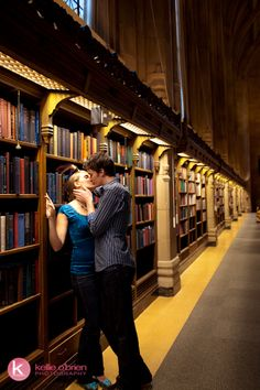Love in the Library... (University of Washington Library, Seattle, WA)