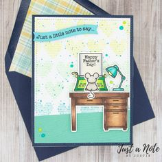 This card uses the Just My Type and Love Poems set by Lawn Fawn. Check out my blog for more details on how I made this card!