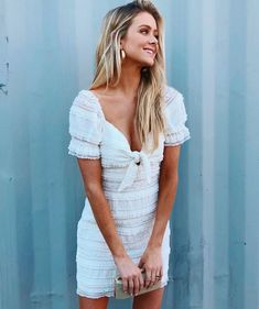 When and collide 💁🏼♀️ as modeled by 🛍🛍🛍 Short Lace Dress, Bootie Sandals, Ribbed Crop Top, Black Espadrilles, Dress Outfits, Dresses, Short Skirts, Lace Shorts, White Dress
