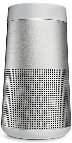 Bose SoundLink Revolve Portable 360 Bluetooth Speaker - Triple Black Or Lux Gray Small Speakers, Bluetooth Speakers, Portable Speakers, Unique Gifts For Boyfriend, Component Speakers, Surround Sound Systems, Audio Player, Cool Things To Buy, Stuff To Buy