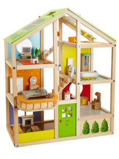 hape toys dollhouse