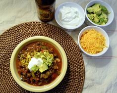 Ultimate Lean Beef and Pepper Chili | The Law Student's Wife